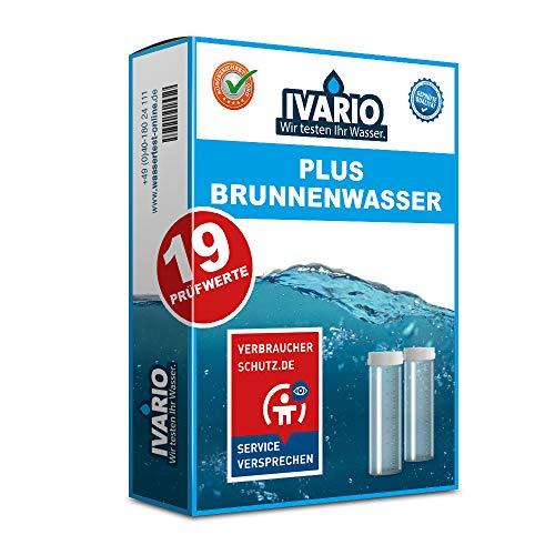Brunnenwasser Test Plus, professionelle Laboranalyse im deutschen Fachlabor mit 19 Prüfwerten / kostenlose Expertenberatung / 24h-Versand / Kinderleichte Probenahme