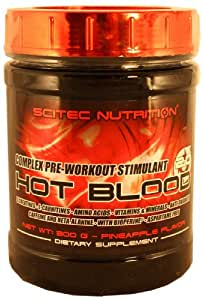 Scitec Nutrition Hot Blood 2.0 Ananas, 1er Pack (1 x 300 g)