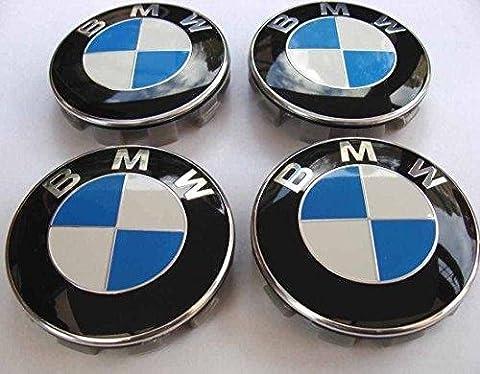 X4BMW Centre roues en alliage Hub Housses de 68mm E39E60F10F12F20F30F32G11G30x1X3X4X5X6134567Series M3M5M6Z3Z4et d'autres modèles numéro de pièce 36?13?6-783?5363613678353636136783536