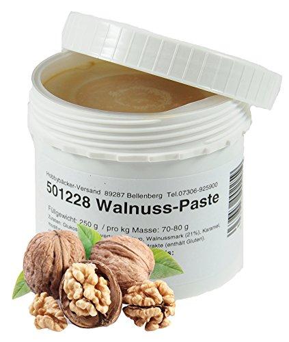 Hobbybäcker Walnuss-Paste  Zur Verfeinerung von Eis, Joghurts, Desserts & Tortencremes,...