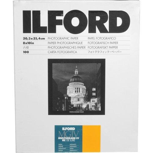 Ilford Multigrade IVRC Satin Deluxe 20,3 x 25,4 cm (8 x 10 Zoll), 100 Blatt -