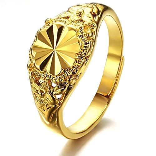 opk-jewellery-damen-ehering-18k-gelb-vergoldet-licht-flacher-diamantschliff-ring-gre-verstellbar