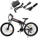 ZEARO 2018 Vélo électrique Femme/Homme 250W 36V 8A Kit VTT MTB 26 Pouces E-bike Batterie au lithium 25-28 Km/h