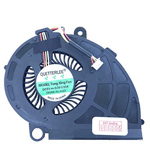 Lüfter/Kühler Fan kompatibel mit Acer Aspire M3-481-323c4G50Mass, M3-481-53314G50Mass, M5-481PTG-53314G52Mass, M5-481T-6820, M5-481PTG-53314G12Mass, M5-481T-6694 -