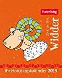 Widder Mini-Sternzeichenkalender 2015: Ihr Horoskopkalender