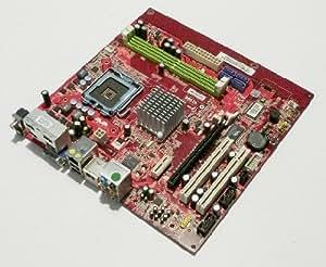 MSI mS - 7504 ver 1.1 carte mère 775 nVIDIA mCP73PV carte mère micro aTX 7504 dDR2 mS vGA