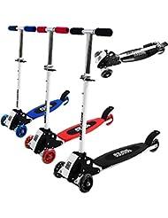 Trottinette 3 roues Kickboard - pliable - Roulements ABEC 5 - couleur au choix