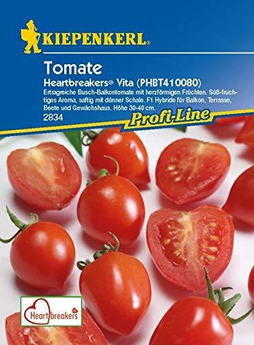 SONIRY Samen-Paket: Kiepenkerl - Tomatenheartbreakers Vita (PHBT 410080) 2834 Balkon Tomaten