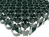TERRAM BodPave®85: hochbelastbares Wabengitter, grün (1m²), zur Bodenstabilisierung (Kiesflächen, Rasenflächen)