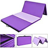 Best Tumbling Mats - COSTWAY 6FT/8FT/10Ft Foldable Exercise Yoga Gymnastics Mat PU Review