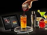 Cocktail-Set Edelstahl | Cocktails Rezepte zum Selbermachen | Inklusive Cocktailshaker, Waage und App | Cocktailmaker ideal für Zuhause oder die Bar