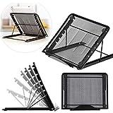Techtest Ventilated Laptop Tablet Stand (Black)