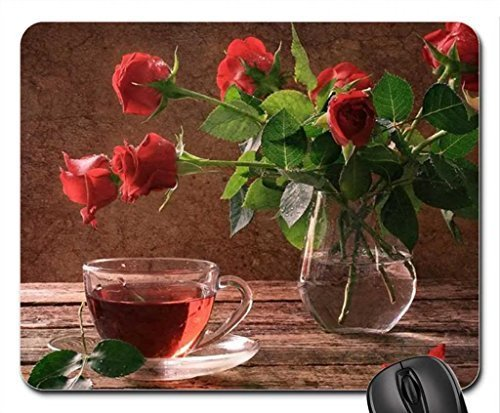 red-roses-cup-of-tea-mouse-pad-mousepad-flowers-mouse-pad