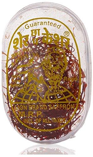 Lion Brand 100% Pure Saffron - 1 gm Kashmir Certified Grade A (Flat shipping)