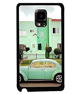 Printvisa Vintage Automobile Pic Back Case Cover for Samsung Galaxy Note Edge::Samsung Galaxy Note Edge N915