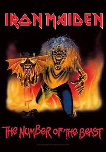Old Glory Iron Maiden Wandteppich