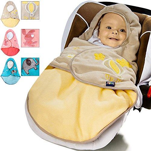 Lupilu Babyfußsack Baby Fußsack Winterfußsack Kuschelsack Babydecke Kinderwagen ✔waschbar ✔gut gefüttert ✔rosa