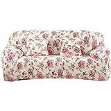 FORCHEER Sofabezug Elastisch 3-Sitzer Sofa-Überwürfe Sesselhussen Elastisch Hautfreundlich 180-225cm (71-89inches)