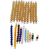 Sharplace Montessori Juguete Educativo de Matemáticas para Niños 1-10 Granos