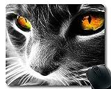 Yanteng Estera del ratón, cojín de ratón de Las Ilustraciones del Gato, Estera del ratón para la computadora cat284
