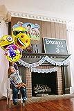 33 Stück Emoji Party Luftballons 45CM Folie Helium Gesichtsausdruck Balloons für Party Zur Dekoration Vergleich