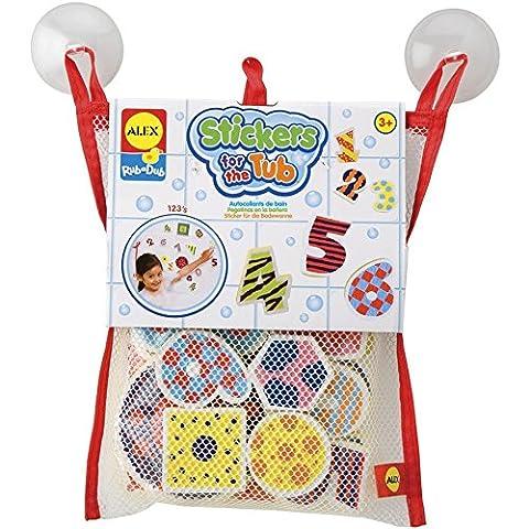 Alex Rub a Dub 123 Stickers for the Tub bath toy