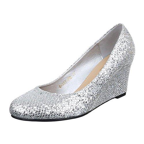 Schuhe silber bequem