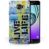 Coque de Stuff4 / Coque pour Samsung Galaxy A3 (2016) / Graffiti Vivre la Vie Design / Fragments Collection