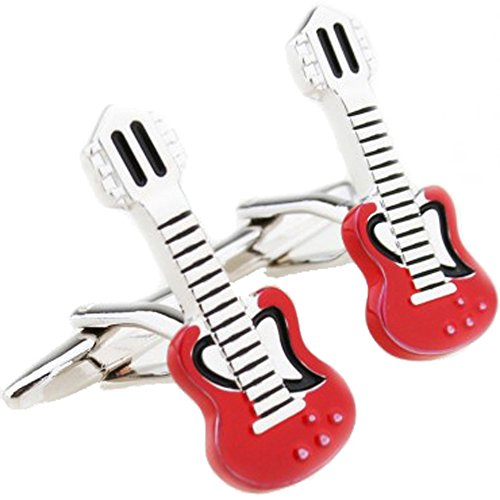 korpikusr-red-guitar-stainless-steel-cufflinks-in-free-designer-gift-bag