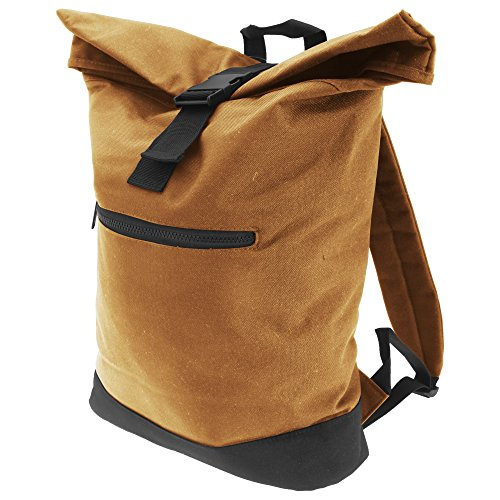 Bagbase Roll-Top Rucksack (12 Liter) (Einheitsgröße) (Karamell)