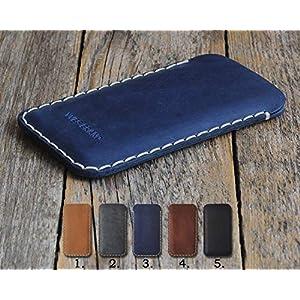 Personalisierte Leder Etui Tasche für Samsung Galaxy, alle Größe auf Bestellung