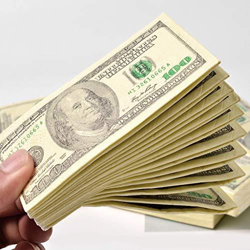 GUOQIAO ✩10 Blatt/Pack Lustige Dollar Seidenpapier Handtuch Aus Reinem Holz Muster - Übergangs-blätter