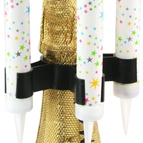 drinkstuff Sparkler Bottle Clips - Pack of 45   Sparkler Clips  Ice Fountain Clips  Light Sparkles Clips