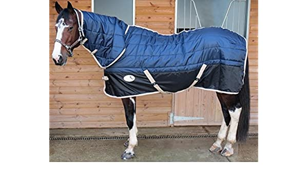"""4/'6/"""" Equidor Aurora 200G Horse Stable Rug Combo Fixed Neck Medium Weight Size"""
