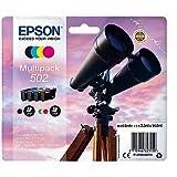 Epson C13T02V64010 Encre (4) approprié pour XP5100 multicolore 1x 4, 6ml noir + 3x...