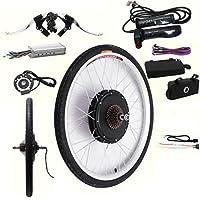 Hansemay Kit de conversión de bicicleta eléctrica de 48V 1000W 26 Kit de conversión de motor