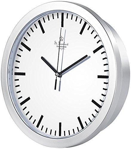 St. Leonhard Bahnhofsuhr: Wanduhr mit Geheimfach (Uhr Versteck)