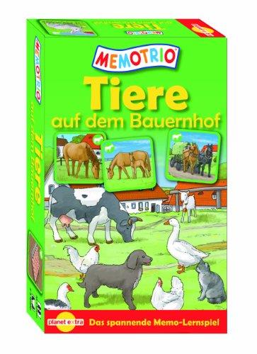 Memotrio 23115 - Memotrio- Tiere auf dem Bauernhof