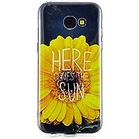 Everainy Samsung Galaxy A5 2017 Hülle Silikon Transparent Durchsichtig mit Muster Ultra Slim Cover Gummi Hüllen... preisvergleich bei billige-tabletten.eu