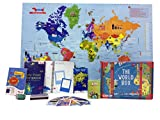 Best Games For 5 Year Olds - Traveller Kids World Box Learn Geography with Maps Review