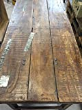 STUFF Loft Vintage Tisch aus Holz klappbar Shabby-Chic Brown Rough