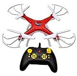 Toyshine 2.4 Ghz Remote Control Drone, 6 CH 6-Axis Quadcopter, One Key Return