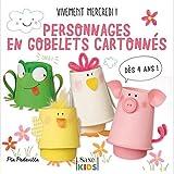 """Afficher """"Vivement mercredi !<br /> Personnages en gobelets cartonnés"""""""