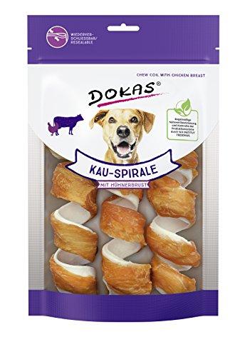 DOKAS Getreidefreier Premium Kausnack für Hunde - Ideal für zwischendurch