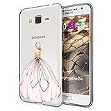NALIA Handyhülle für Samsung Galaxy Grand Prime, Designs:Princess Pink