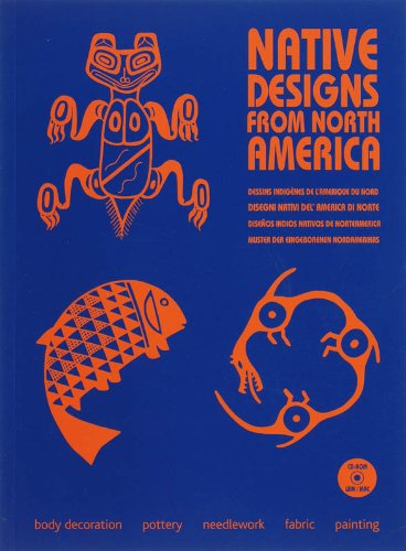 Native Designs from North America (1Cédérom) par M. Hesselt van Dinter