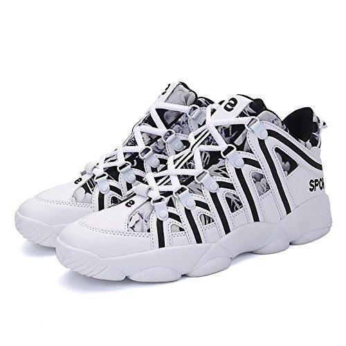 scarpe sportive Scarpe da corsa Scarpe piatte Scarpe da uomo Amanti Assorbimento degli urti Usura antiscivolo Sport allaria aperta Black