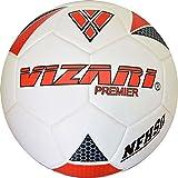 Vizari Premier NFHS Soccer Ball Size White/Red/Black, 4