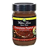 Chocolate Peanut Spread is smooth and creamy, made with cocoa, chocolate flavour and peanut flavour.No Sugar AddedFat FreeGluten FreeKosher