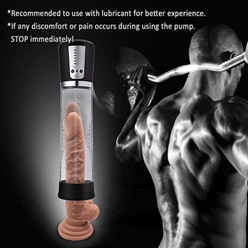 Proxoxo Elektrisch Penispumpe Vakuumpumpe für Herren Erotik Sexspielzeug für Männer Penis Größer zur Hilfe der Erektion und Sexzeit-Verlängerung Enhancer Prolong Penis - 6